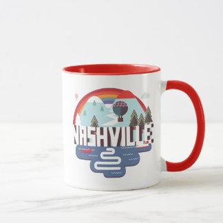 Mug Nashville dans la conception