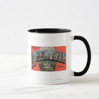 Mug Nashville, Tennessee - grandes scènes 2 de lettre