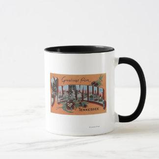 Mug Nashville, Tennessee - grandes scènes de lettre