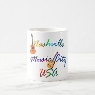 Mug Nashville - ville Etats-Unis de musique