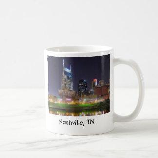 Mug Nashville, ville Etats-Unis de musique de TN
