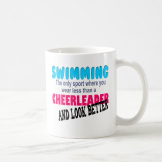 Mug Natation contre Cheerleading