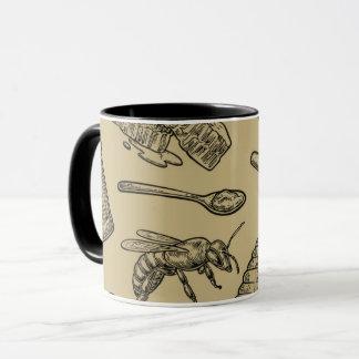 Mug Nature naturelle organique vintage de ruche