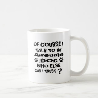 Mug Naturellement je parle à mes conceptions de chien