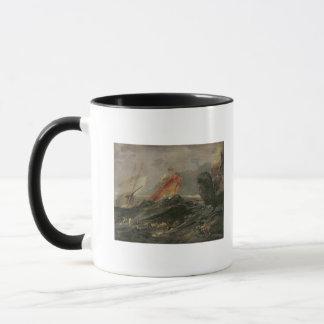 Mug Naufrage sur un rivage rocheux, c.1645-50