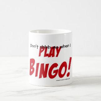 Mug Ne fait pas shhh je quand JE JOUE LE BINGO-TEST !