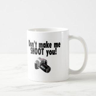 Mug Ne m'incitez pas à vous tirer