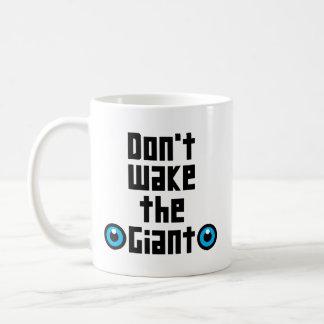 Mug Ne réveillez pas le géant