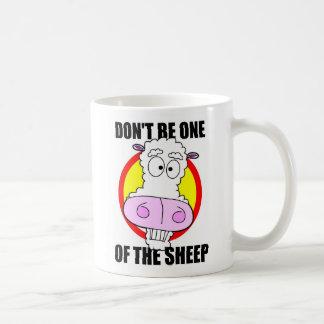 Mug ne soyez pas un mouton