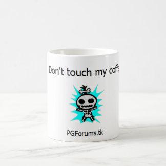 Mug Ne touchez pas mon café