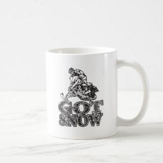 Mug Neige obtenue Snowmobiler