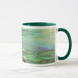 Mug Nénuphars par Claude Monet, impressionisme vintage