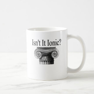 Mug N'est-il pas ionique ?