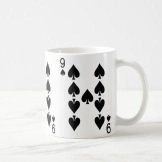 Mug Neuf de la carte de jeu de pelles