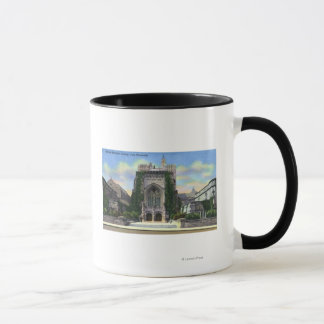Mug New Haven, bibliothèque commémorative sterling de