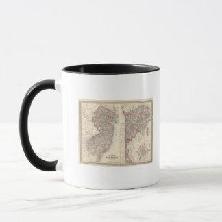 Mug New Jersey, le Delaware, et Maryland