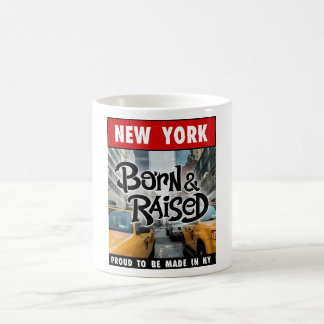 Mug New York City soutenu et augmenté