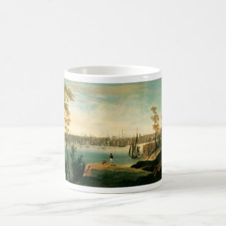 Mug New York de Brooklyn Heights circa 1834