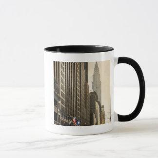 Mug New York, St d'E 42 et construction de Chrysler