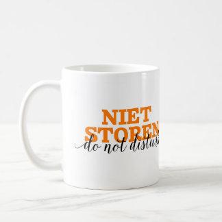 Mug Niet Storen/ne touchent pas au vocabulaire