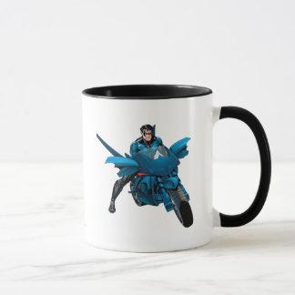 Mug Nightwing sur le vélo