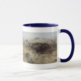 Mug No. 26 de chasse de Buffalo par cm Russell,