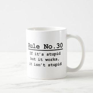 Mug No. 30 de règle