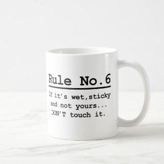 Mug No. 6 de règle