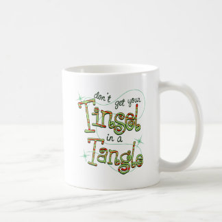 Mug N'obtenez pas votre tresse en cadeaux de Noël