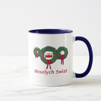 Mug Noël 2 de la Pologne