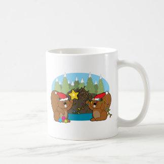 Mug Noël de castor