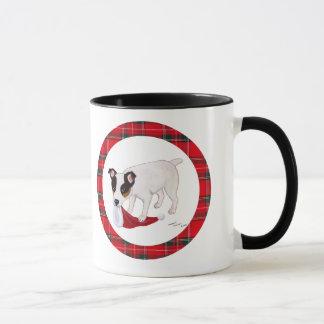Mug Noël de Jack Russell Terrier