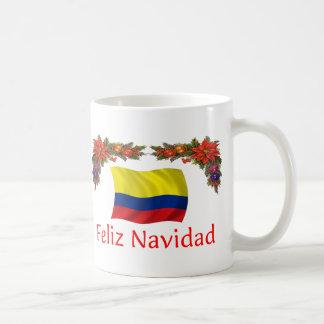 Mug Noël de la Colombie