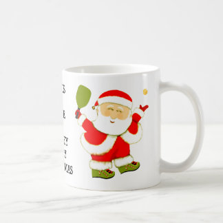 Mug Noël de Pickleball