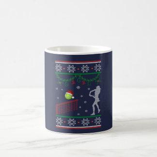 Mug Noël de tennis