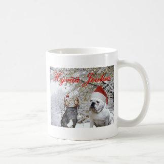 Mug Noël finlandais 2 de bouledogue