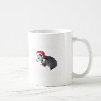 Mug Noël impressionnant d'opossum