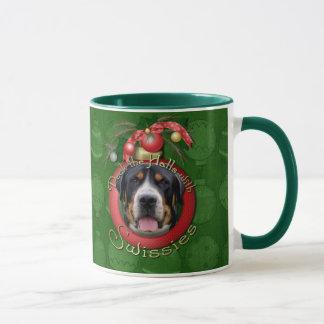 Mug Noël - plate-forme les halls - Swissies