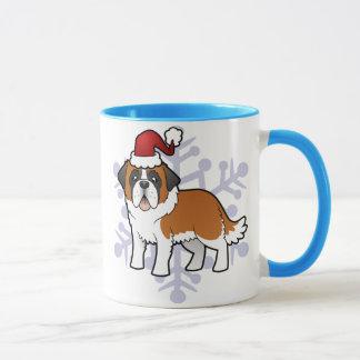 Mug Noël St Bernard