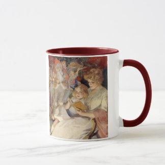 Mug Noël vintage, histoire pour endormir de lecture de