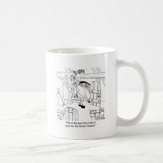 Mug N'offrez pas sur les travaux avec des portes de 3