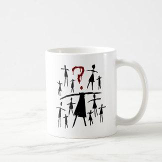 Mug Noir orphelin | Helena - croquis de clone