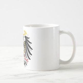 Mug Noir rouge prussien et or d'Eagle