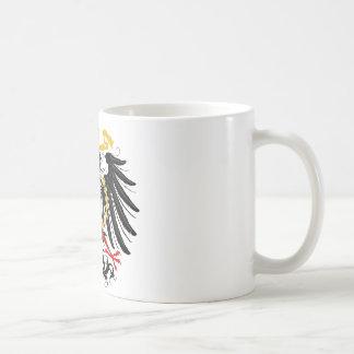 Mug Noir rouge prussien et or d'Eagle