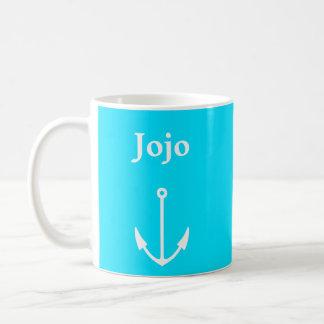 Mug Nom de navigation d'ancre (Jojo)