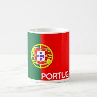 Mug nom des textes de pays de drapeau du Portugal