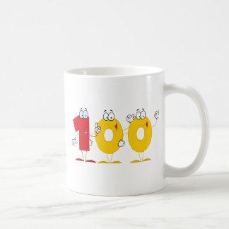 Mug Nombre heureux 100