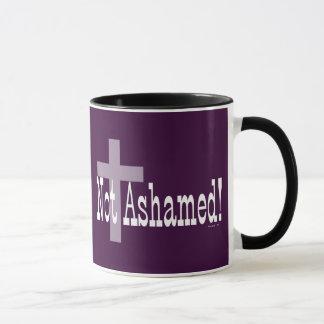 Mug Non honteux ! 1h16 de Romains (avec la croix)