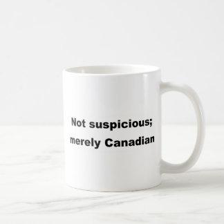 Mug Non méfiant ; simplement canadien