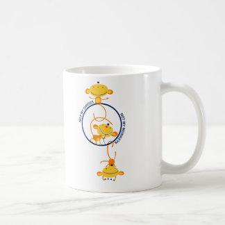 Mug Non mon cirque, non mes singes !